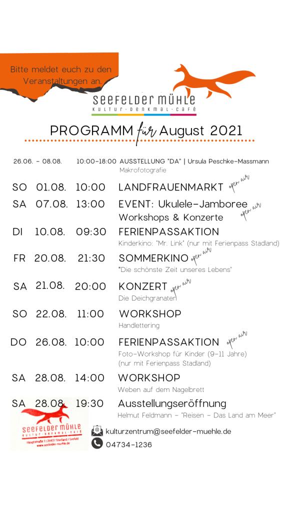 Programm August 2021